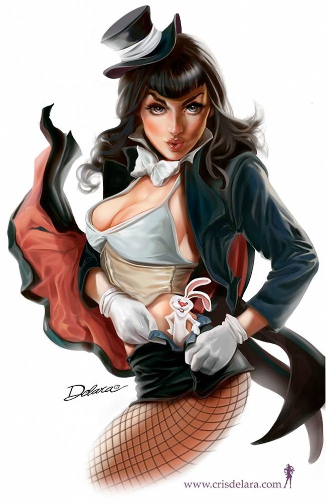 Cris Delara - Magician Pinup