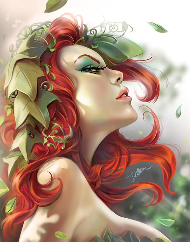 Cris Delara - Poison Ivy Pinup