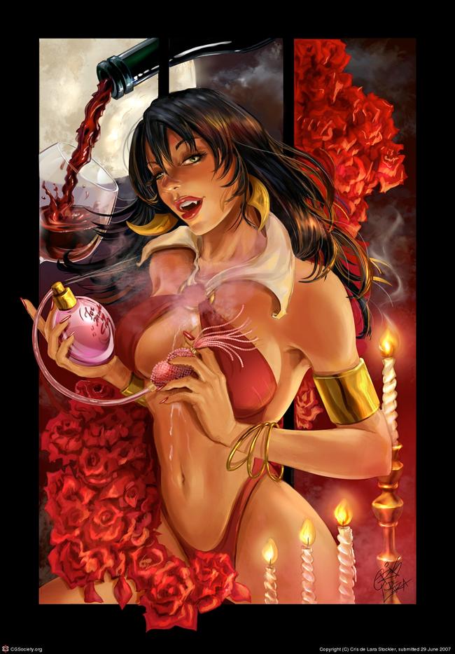 Cris Delara - Vampirella Perfum