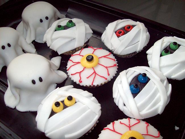 Halloween Cupcakes - Jojo's Cakes