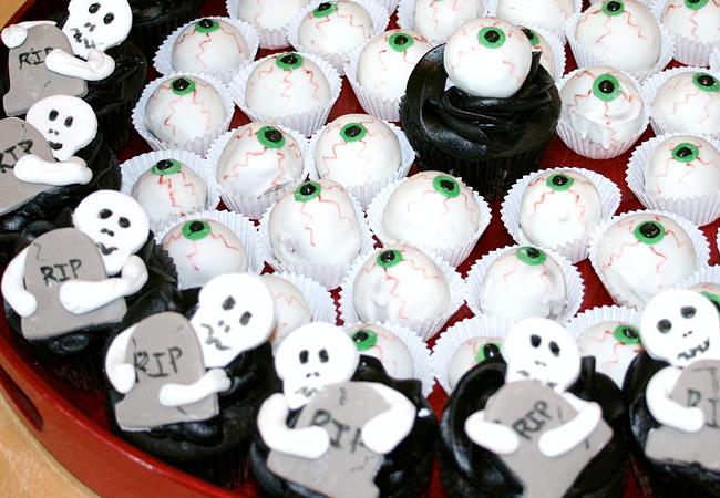 Halloween Cupcakes - Sweet Elegance Cakes