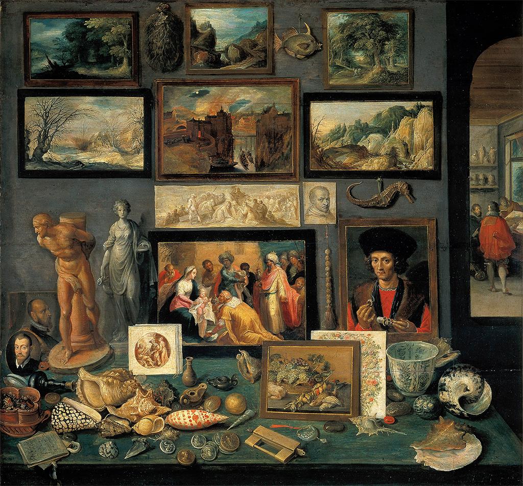 Cabinet of Curiosities - Frans Francken