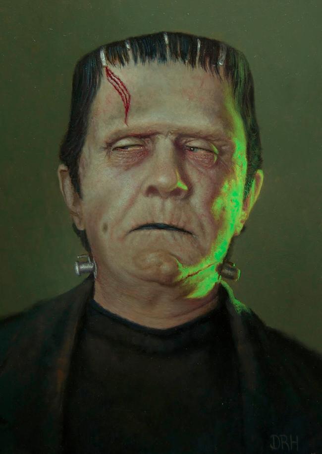 Daniel Horne - Bela Lugosi as Frankenstein