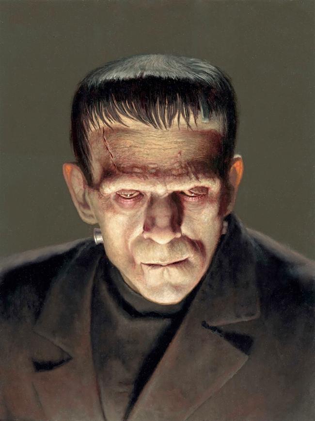 Daniel Horne - Boris Karloff as the Monster