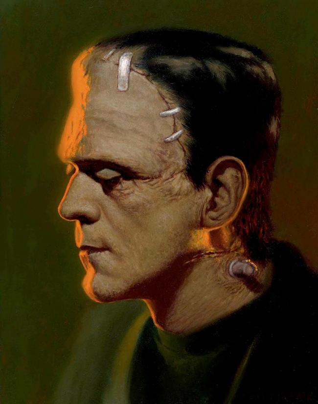 Daniel Horne - Boris Karloff from Frankenstein