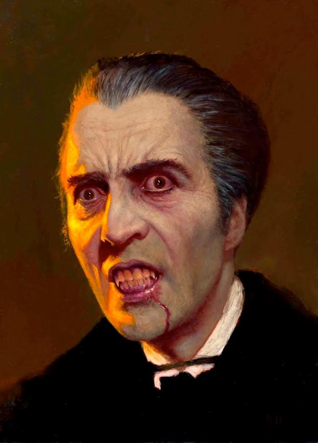 Daniel Horne - Christopher Lee as Dracula