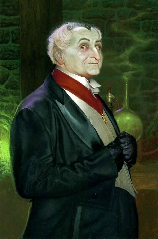 Daniel Horne - Grandpa Munster