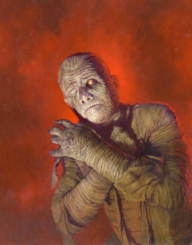 Daniel Horne - Lon Chaney as the Mummy
