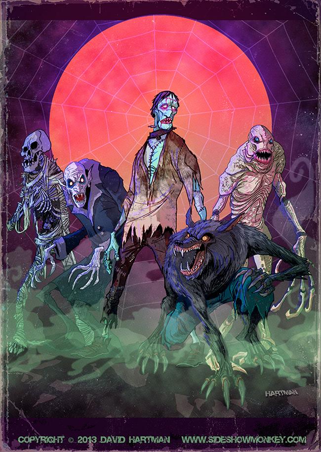 David Hartman - Halloween Monsters