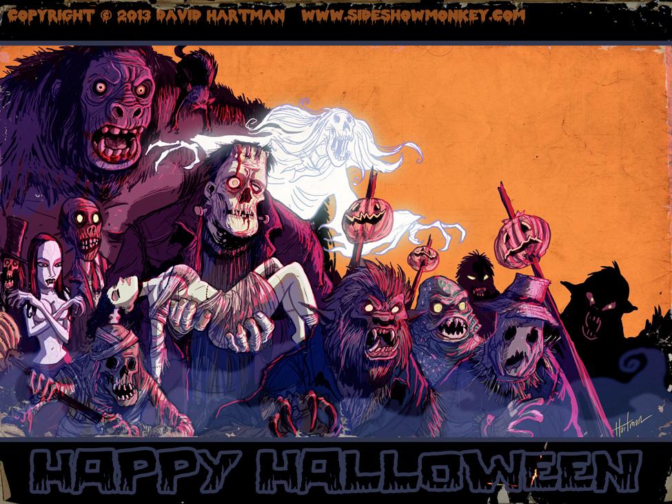 David Hartman - Halloween Parade