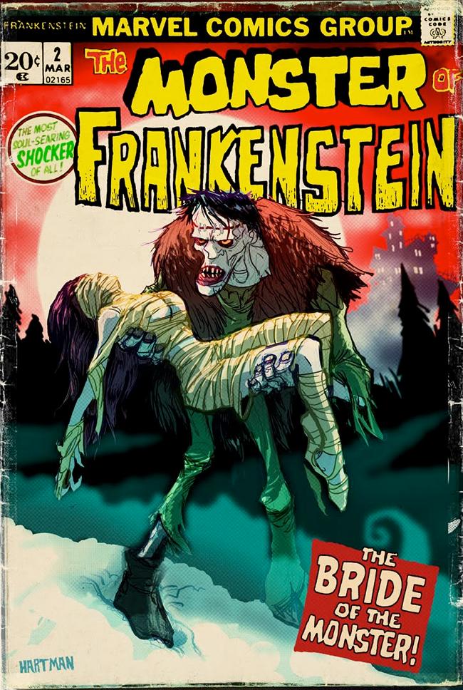 David Hartman - Monster of Frankenstein