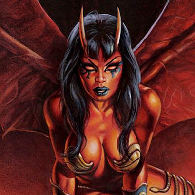 Devil Pin-Ups