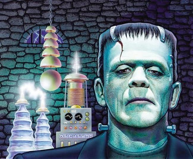 Don Ivan Punchatz - Frankenstein