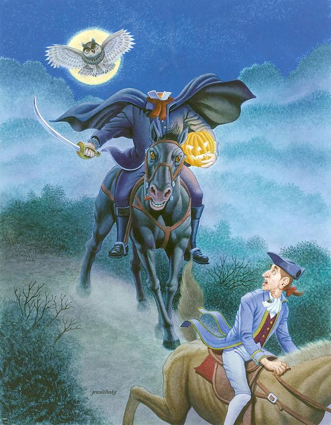 Don Ivan Punchatz - The Headless Horseman