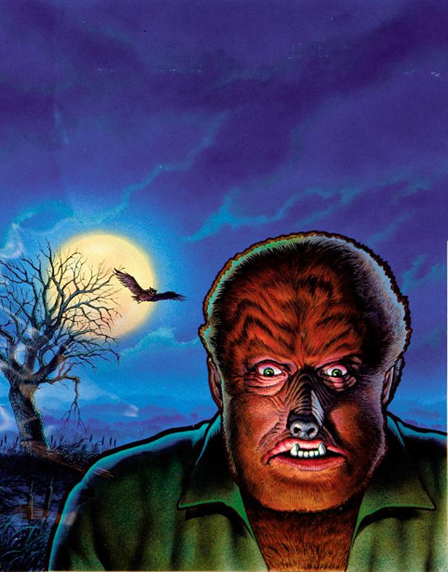 Don Ivan Punchatz - The Wolf Man