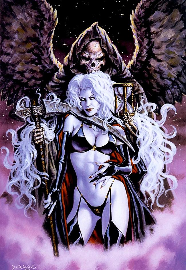 Dorian Cleavenger - Lady Death Dark Millennium