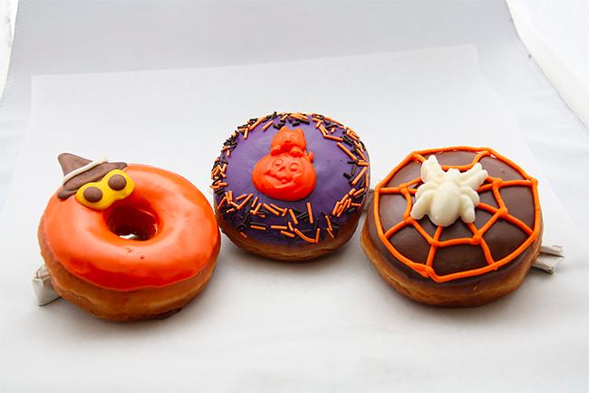 Halloween Doughnuts - GoNutsDonuts