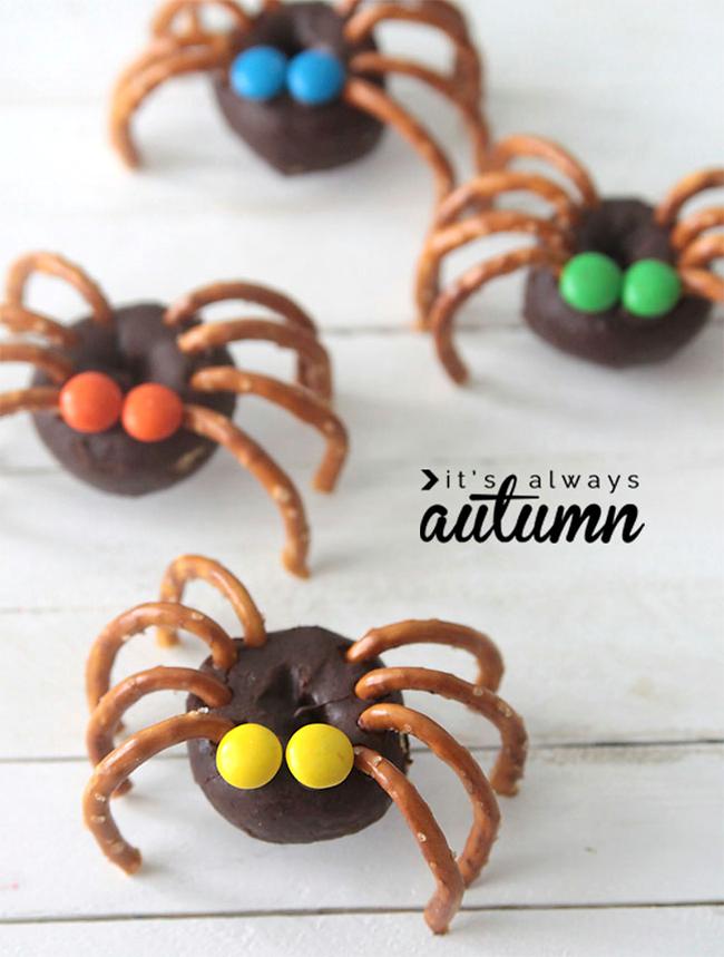 Halloween Doughnuts - It's Always Autumn