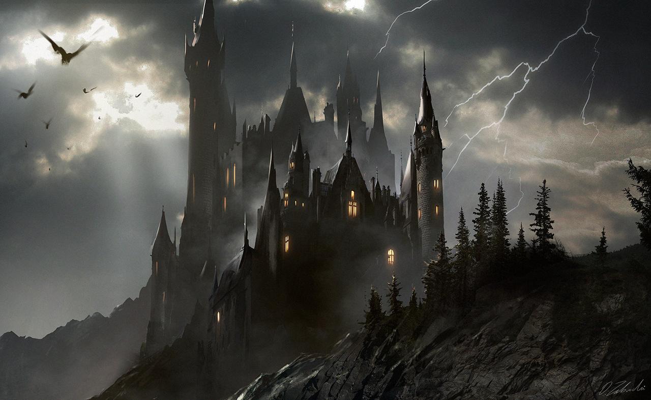 Dracula's Castle - Darek Zabrocki