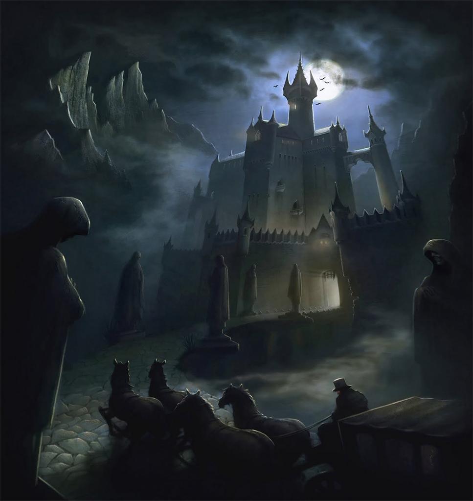 Dracula's Castle - Joshua Black