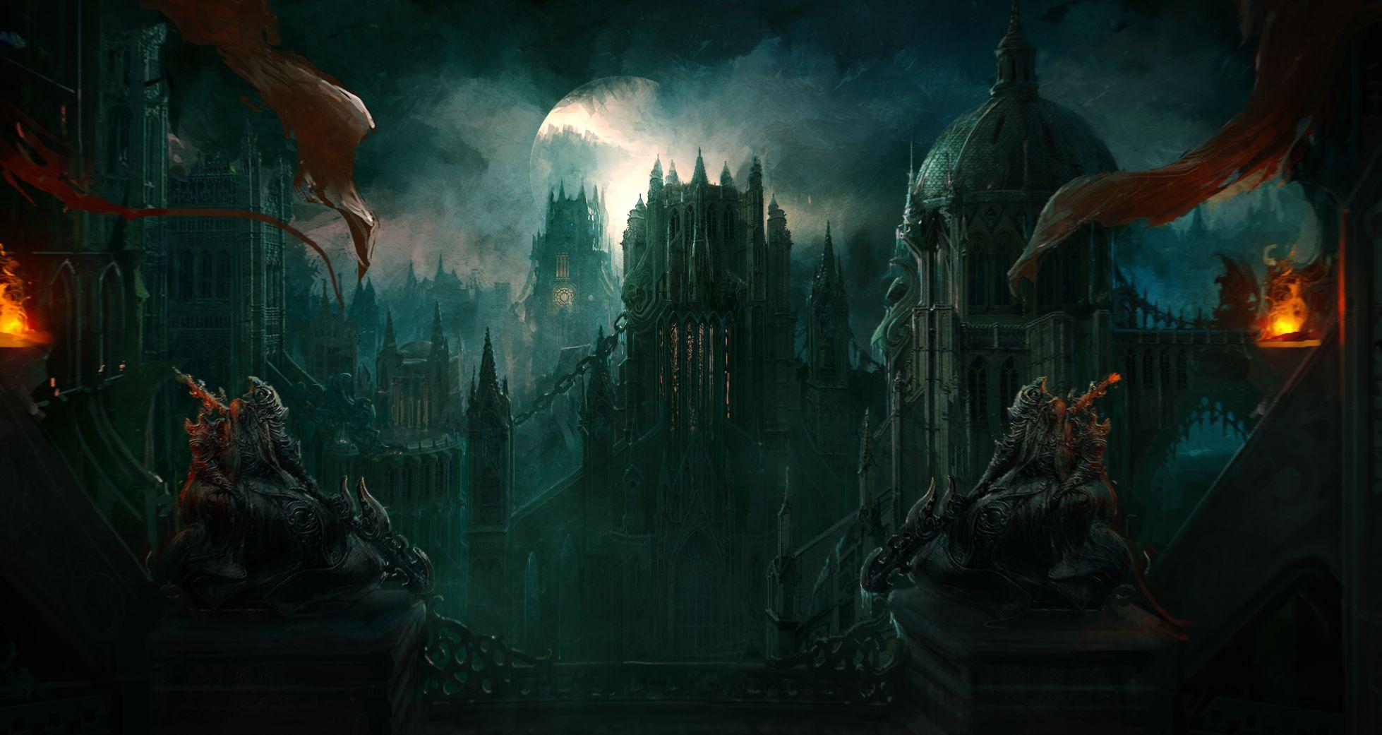 Dracula's Castle - Konami
