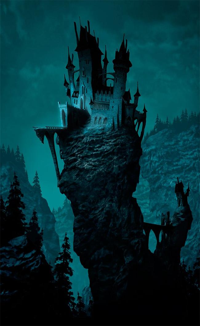 Dracula's Castle - Luc Desmarchelier