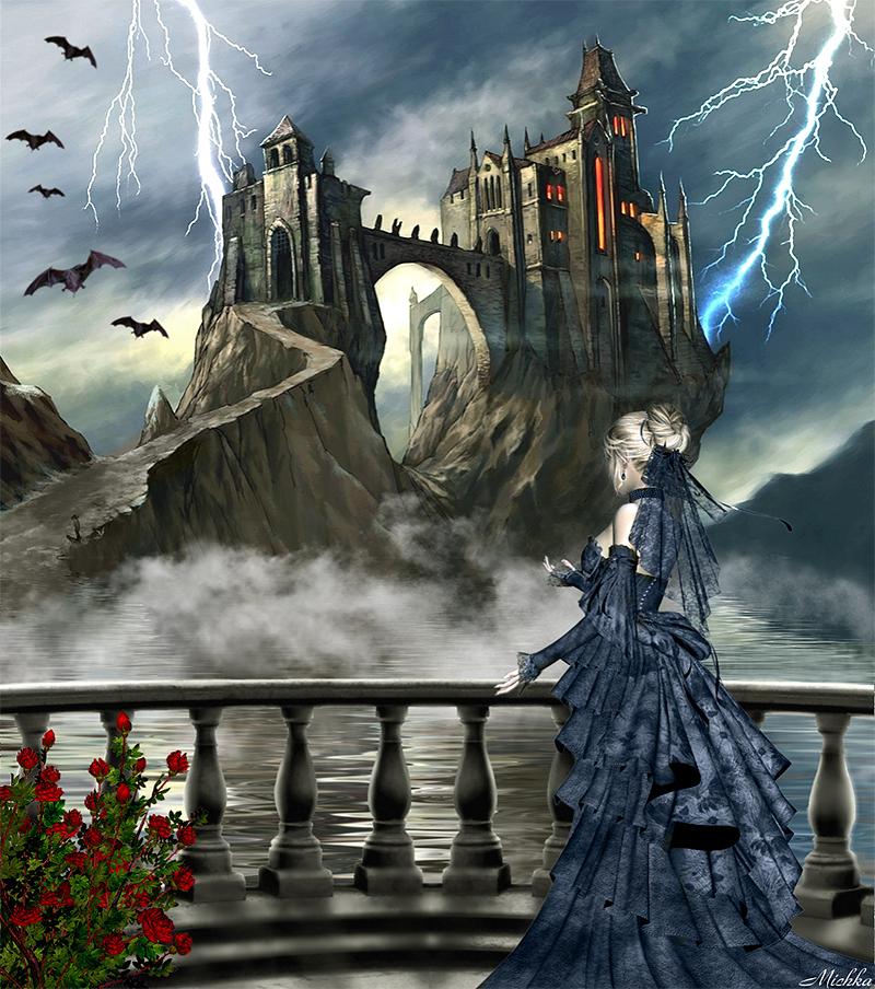 Dracula's Castle - Micheline Pouliot