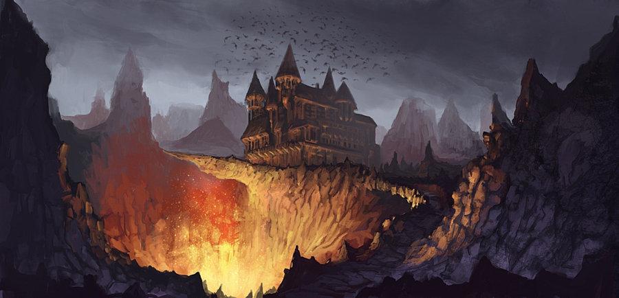 Dracula's Castle - Świat Lundurii