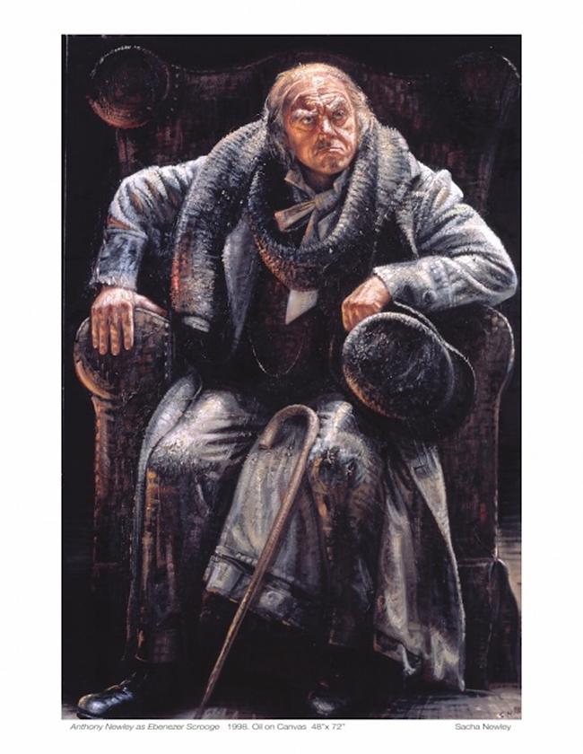 Ebenezer Scrooge - Alexander Newley