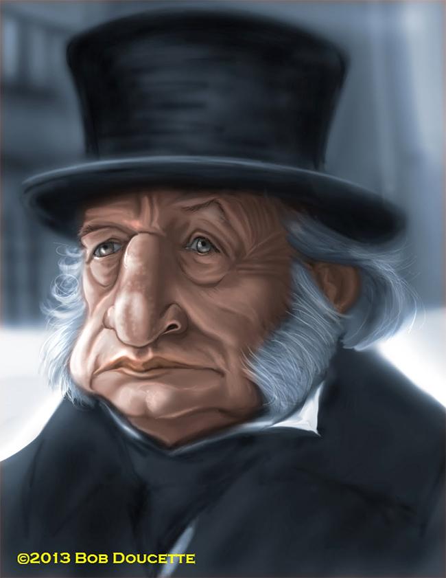 Ebenezer Scrooge - Bob Doucette