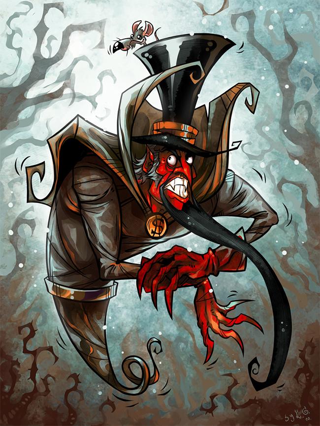 Ebenezer Scrooge - Garvals