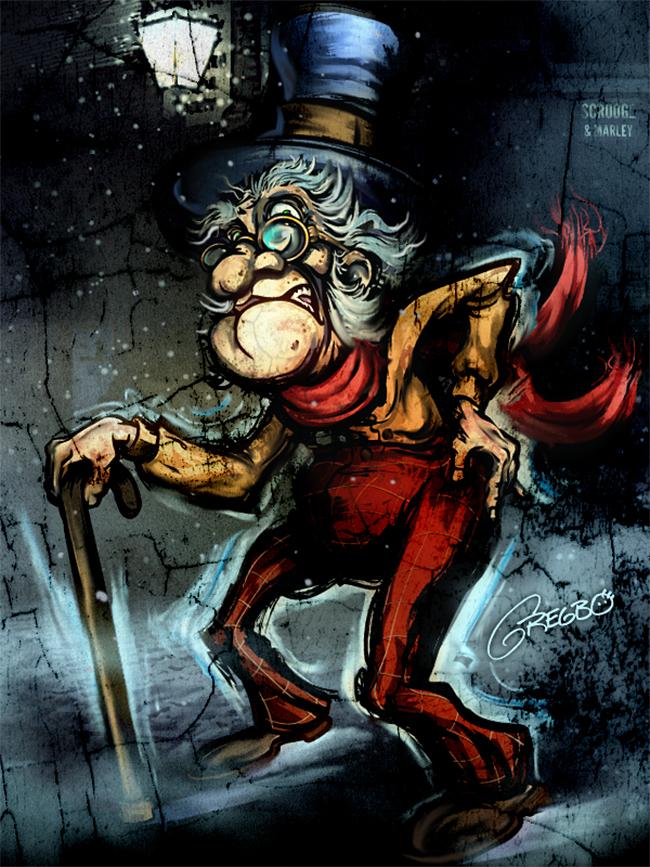 Ebenezer Scrooge - Gregbo Watson