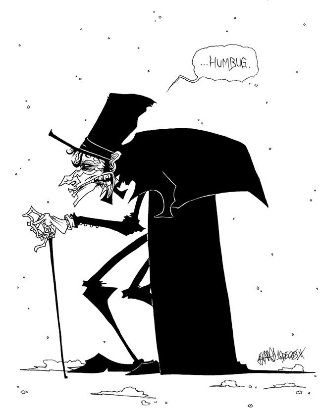 Ebenezer Scrooge - JoJo Seames
