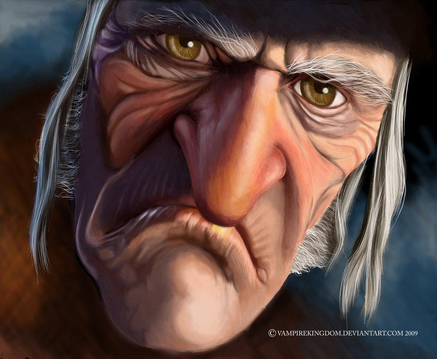 Ebenezer Scrooge - Patricia Petruzzella