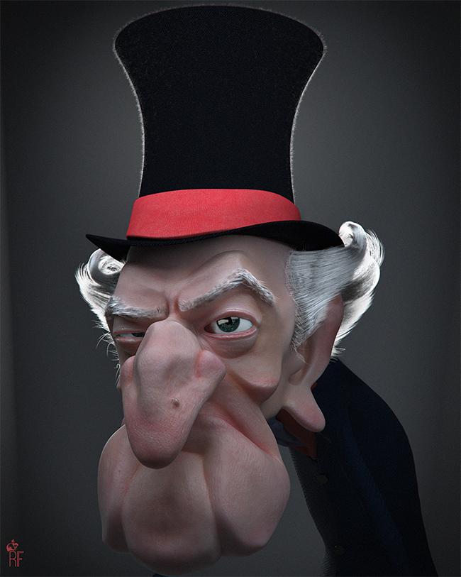 Ebenezer Scrooge - Rodolfo Fanti