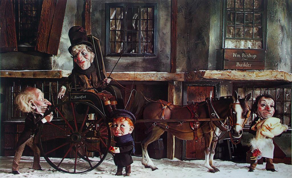 Ebenezer Scrooge - Roger Law