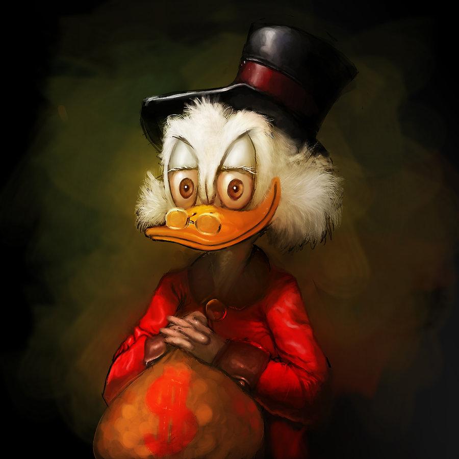 Ebenezer Scrooge - Udanchalla Ghodipachad