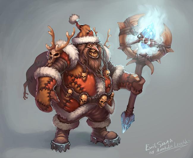 Evil Santa Claus - Anatolii Leoshko