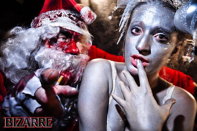 Evil Santa Claus - Bizarre Magazine