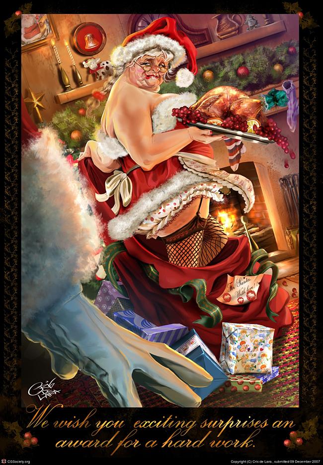 Evil Santa Claus - Cris Delara