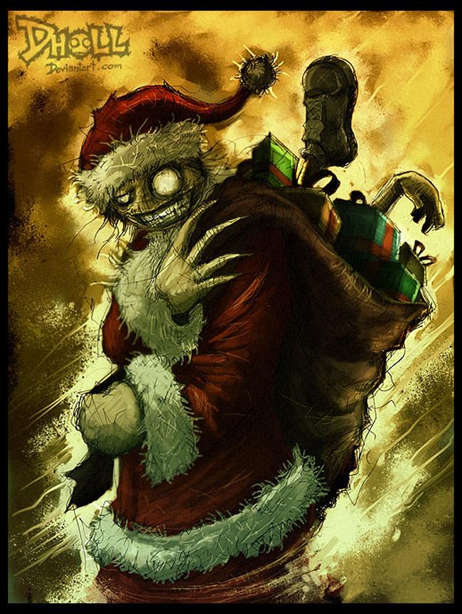Evil Santa Claus - Dholl