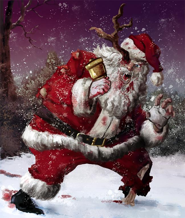 Evil Santa Claus - E. Korsgaard