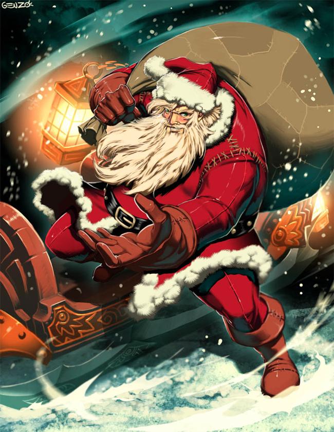 Evil Santa Claus - Genzoman