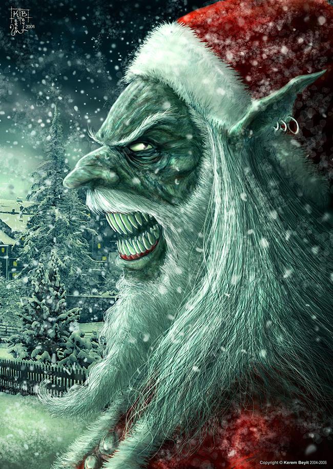 Evil Santa Claus - Kerem Beyit