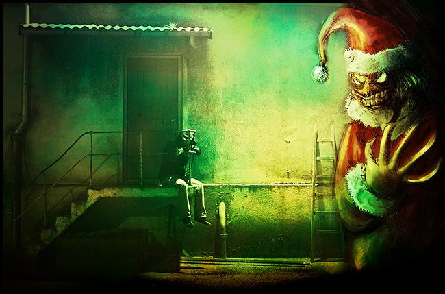 Evil Santa Claus - Lipsi