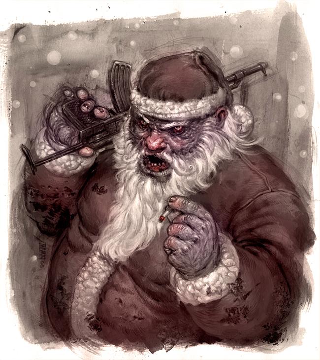 Evil Santa Claus - Michal Ivan
