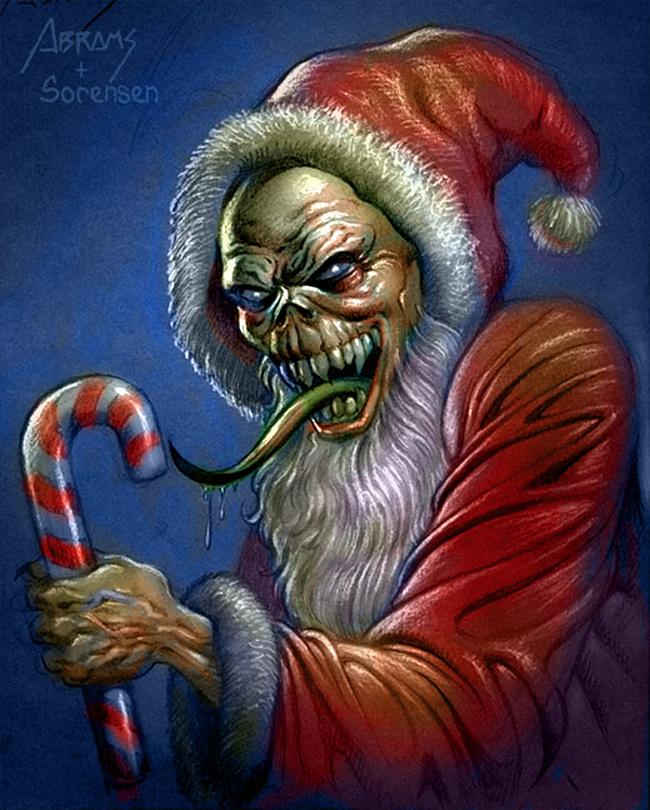Evil Santa Claus - Paul Abrams