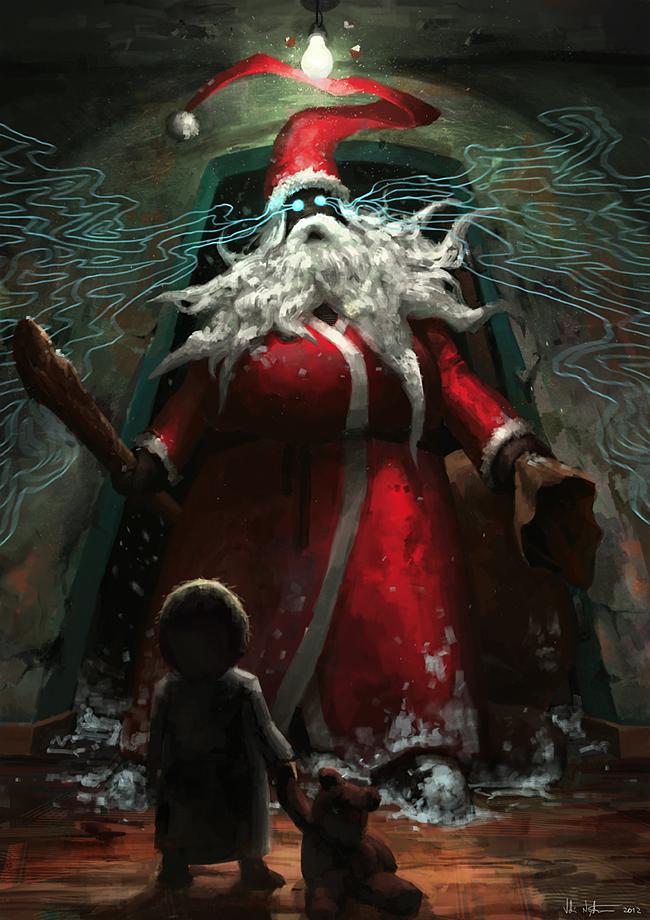 Evil Santa Claus - Veli Vablo Nyström