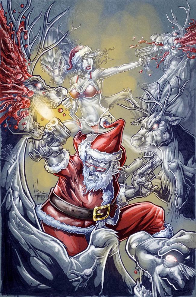 Evil Santa Claus - Vinz El Tabanas