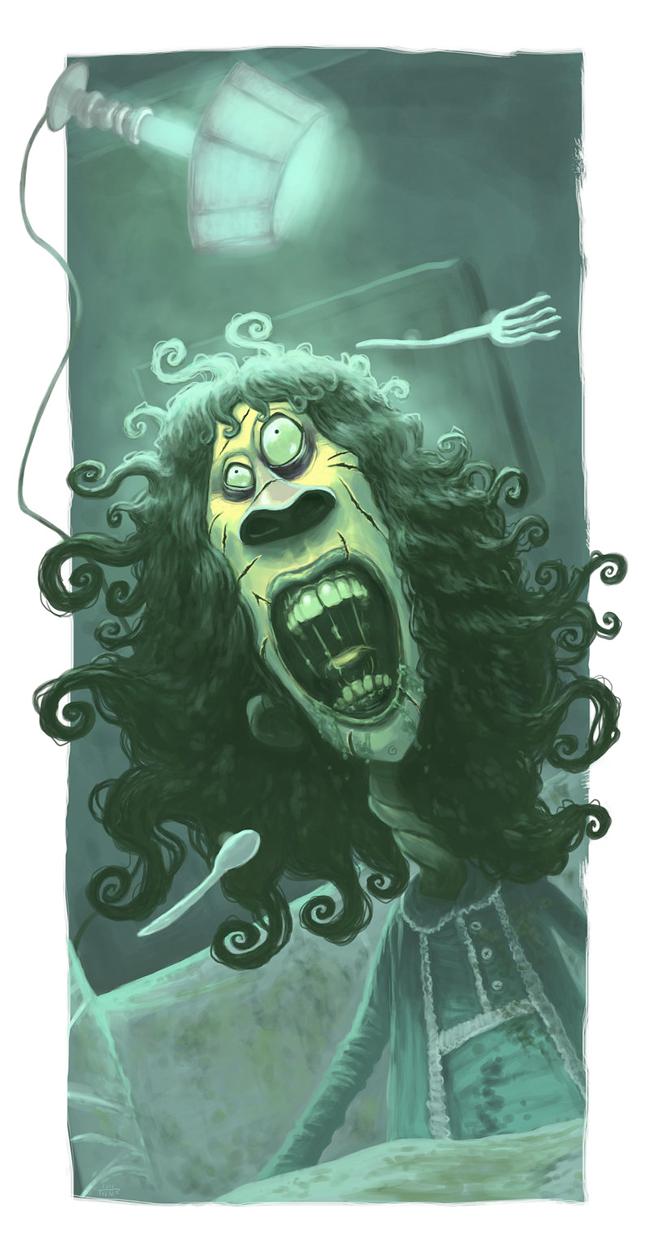 Exorcist - Arthur Mask